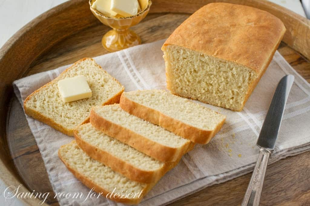 English Muffin Bread and Tomato Sandwiches - Saving Room for Dessert