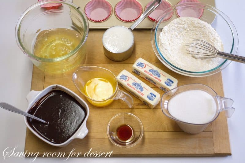 German's Chocolate Cupcakes-1