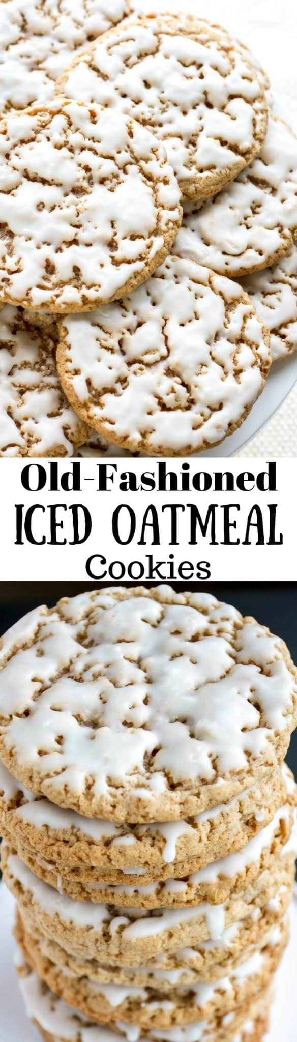 Soft Oatmeal Cookies With Old Fashioned Oats