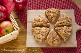 Apple Cinnamon Scones-8