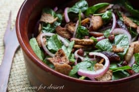 Pita Spinach Salad-6
