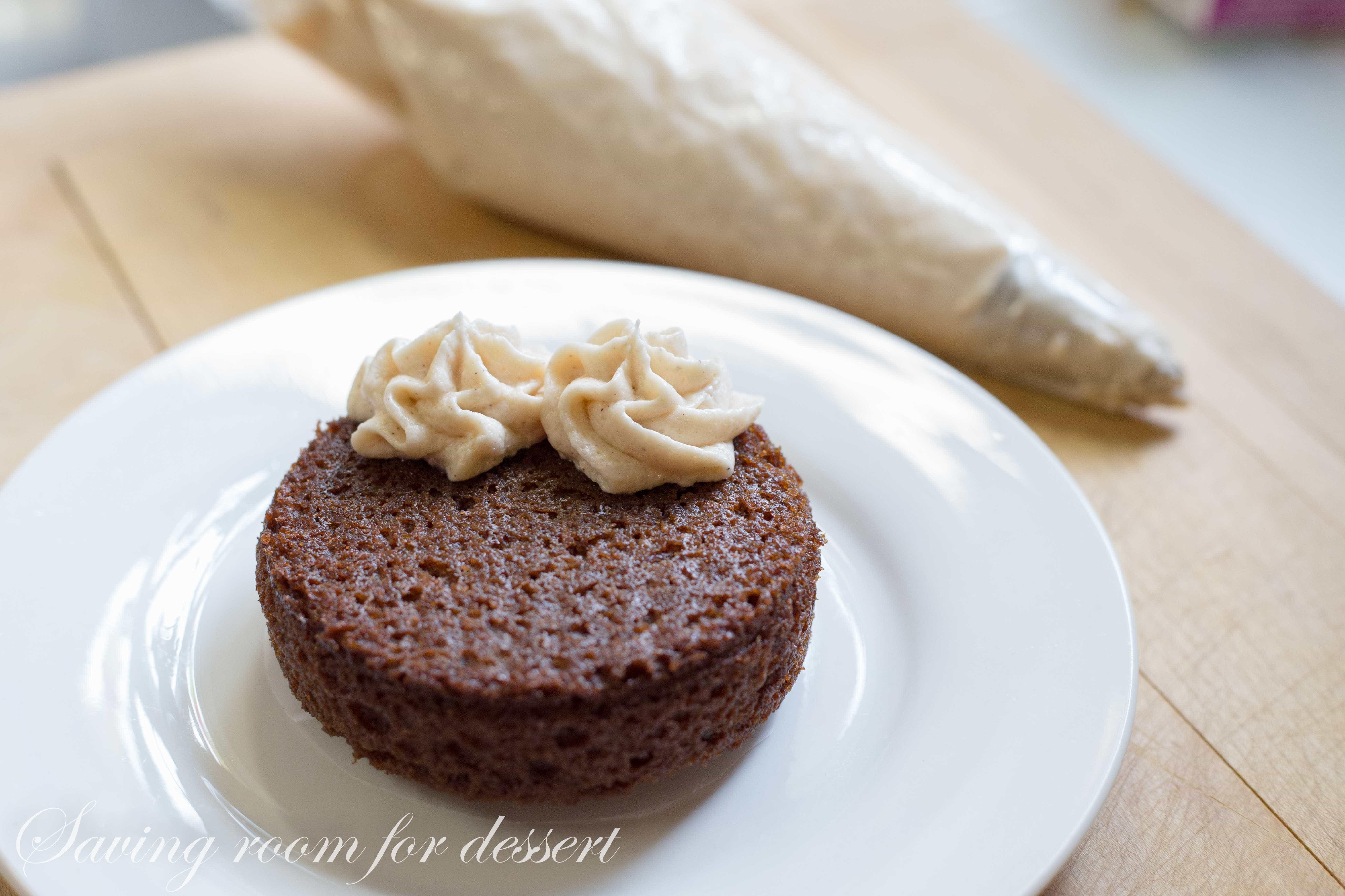 Applesauce Spice Cake-3