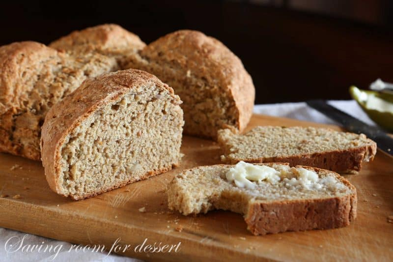 Brown Irish Soda Bread-6