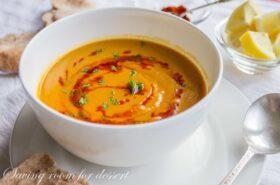 Butternut Squash Lentil Soup-4