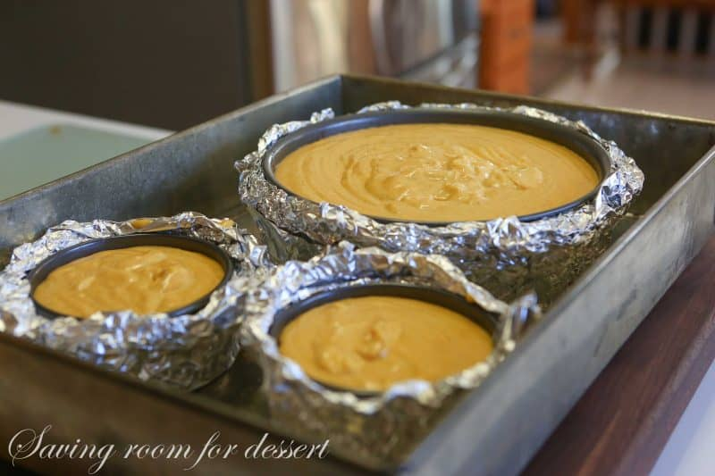 Spiced Pumpkin Cheesecake with Gingersnap Crust