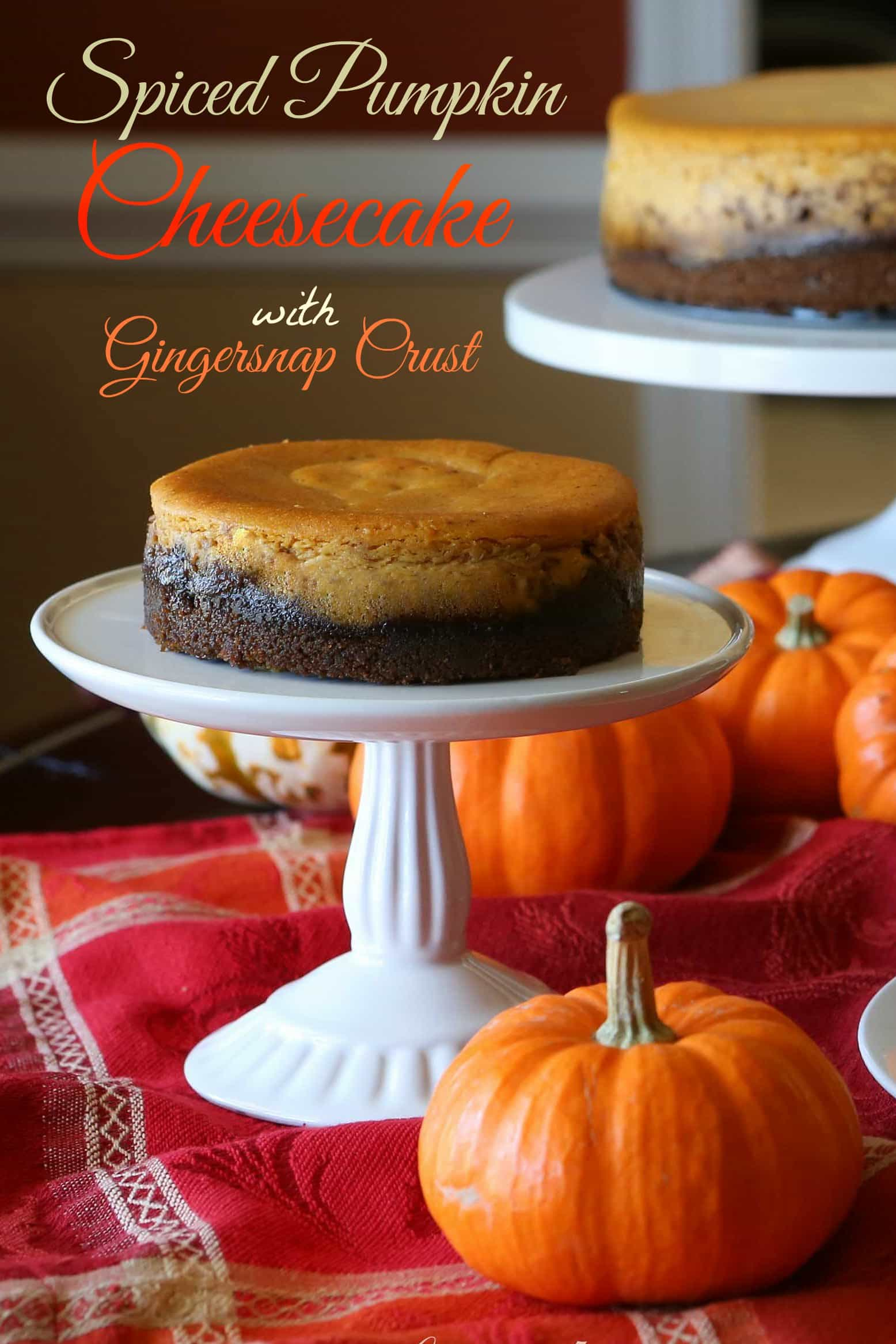 If you're a fan of cheesecake and pumpkin pie – this will be your ...