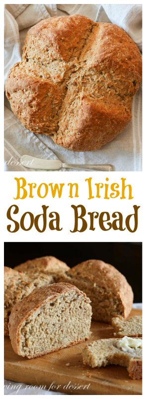 Brown Irish Soda Bread - Saving Room for Dessert