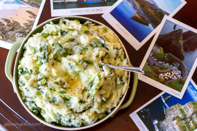 a traditional Irish Gaelic dish made alongside cabbage Colcannon