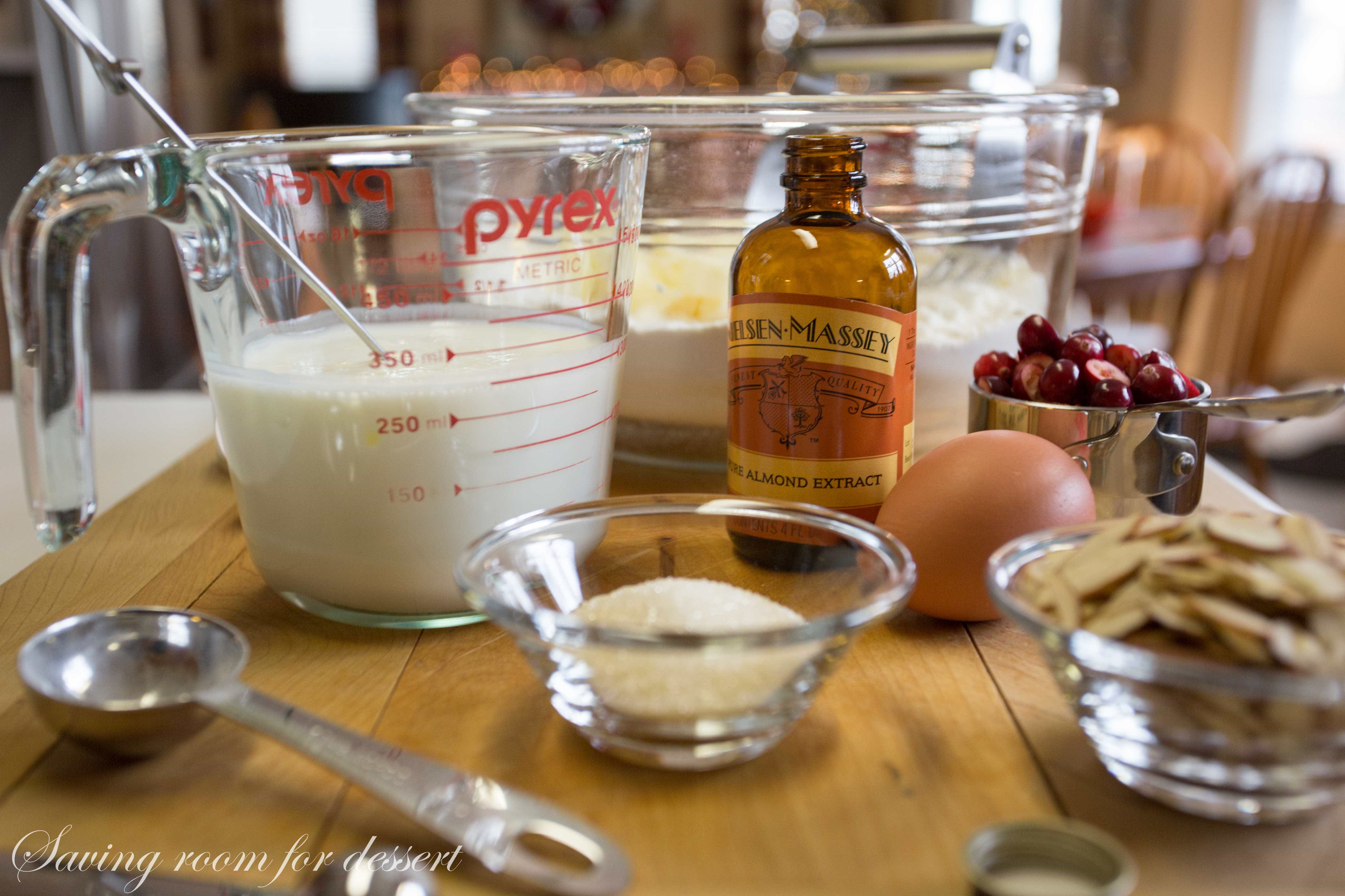 Almond extract is one of those flavors I can't get enough of. In ...