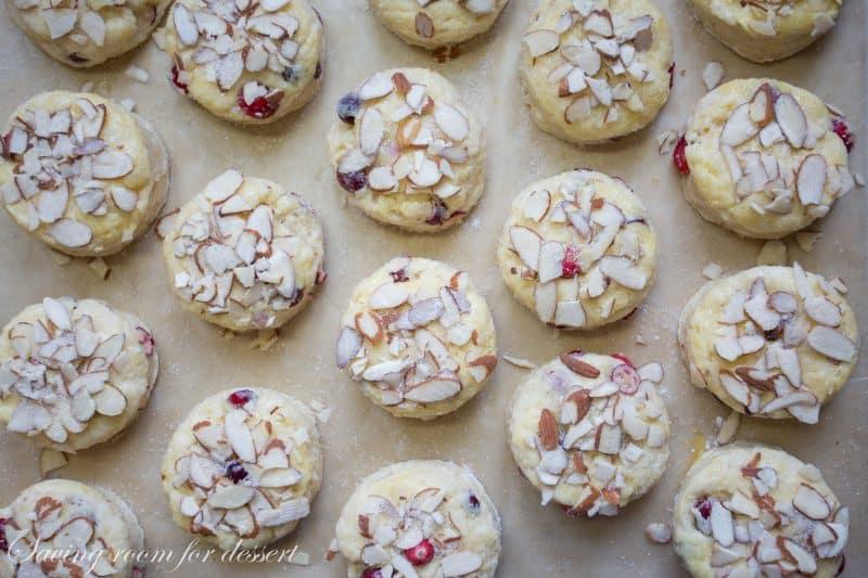 Almond Cranberry Scones-6