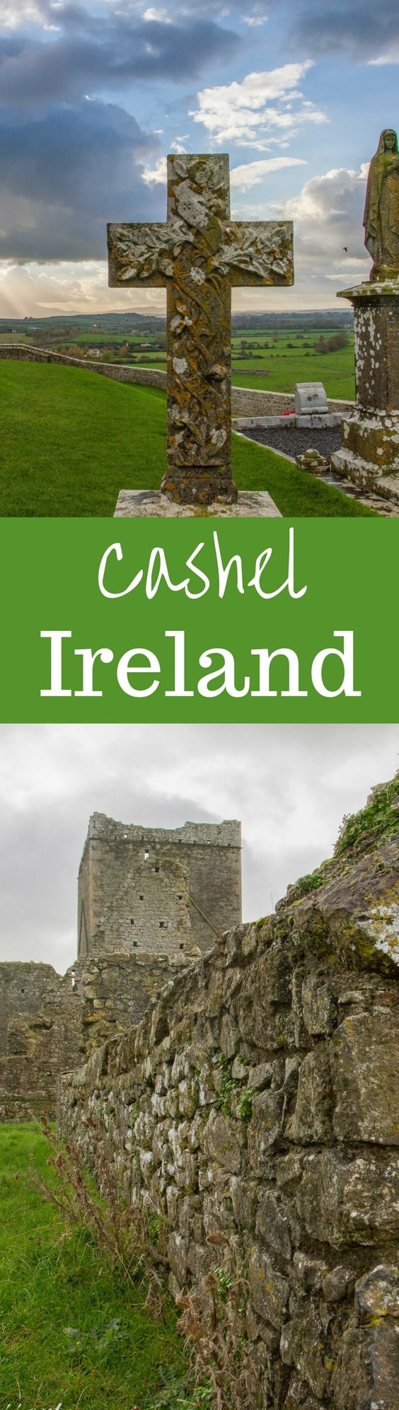 Cashel Ireland - a tour around town complete with a street festival, the Rock of Cashel, and the Hore Abby | www.savingdessert.com