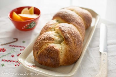 in addition to surprise sweetness fruit in addition to nut filling are certain to delight gift recipients in addition to guests al Cranberry Orange Walnut Sweet Bread