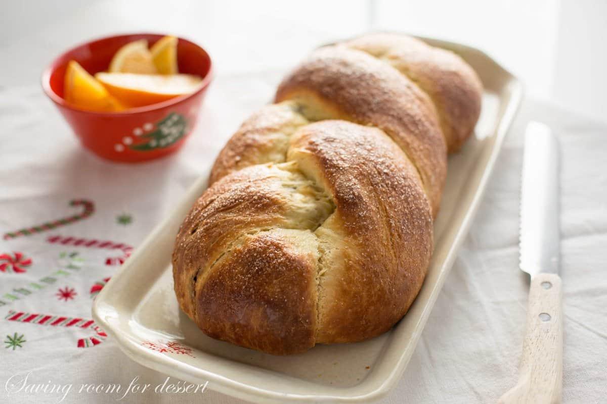 Cranberry Orange Walnut Sweet Bread Saving Room For Dessert