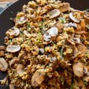 Wild Rice and Mushroom Pilaf-5