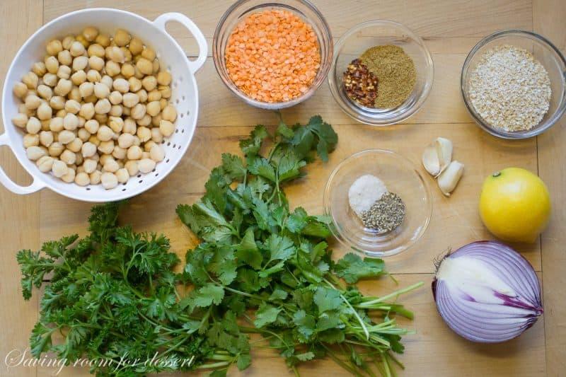 Falafels with Lentils-1