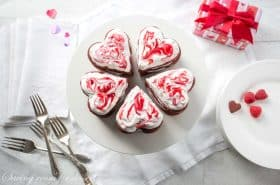 Raspberry Chocolate Cookie Stack Cakes-5