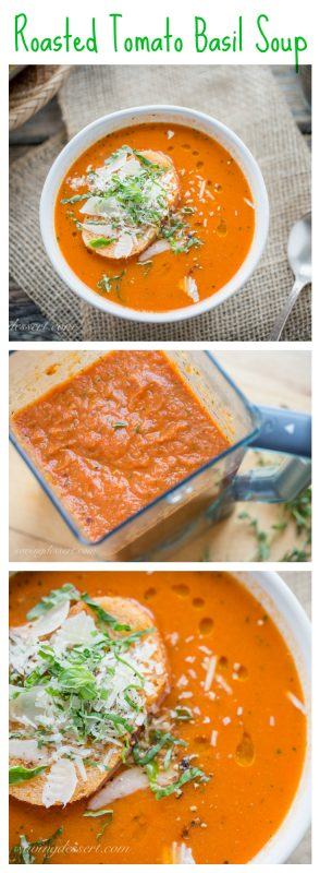 workers pick out been talking close a local eatery as well as a wonderful love apple tree basil soup they  Roasted Tomato Basil Soup