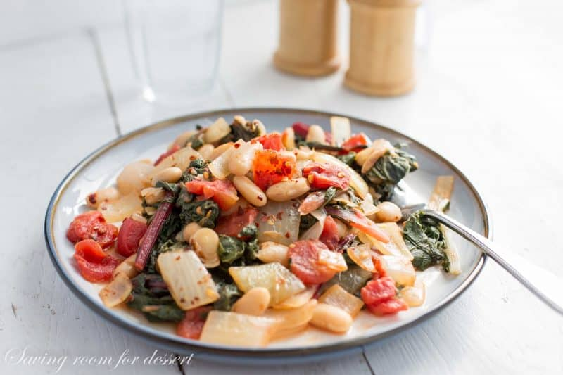 Swiss Chard White Bean Stew-5
