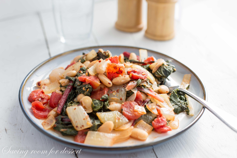 Chard And White Bean Stew Recipe — Dishmaps