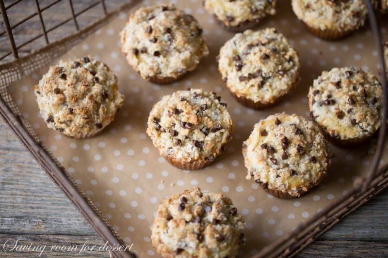 Almond Chocolate Chip Streusel Muffins-5