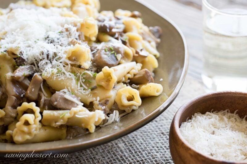 Campanelle with Mushroom Sauce-4