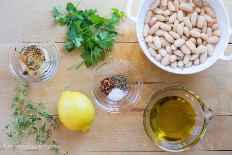 Roasted Garlic White Bean Dip-2