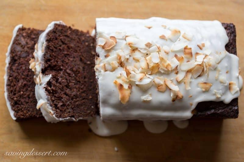 Chocolate Coconut Banana Bread