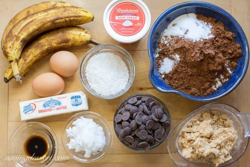 Chocolate Coconut Banana Bread-9