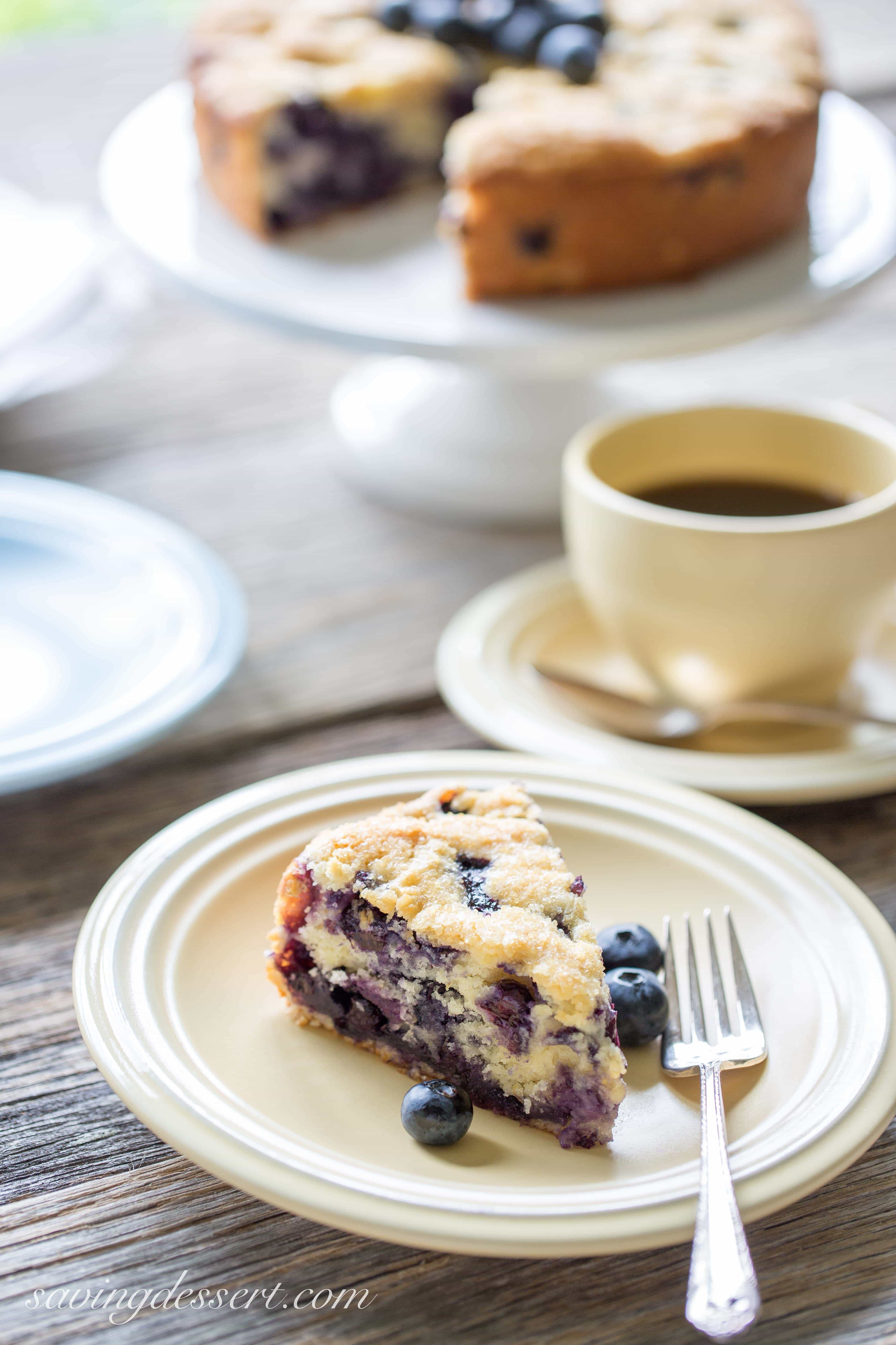 Bed And Breakfast Blueberry Coffee Cake Recipe