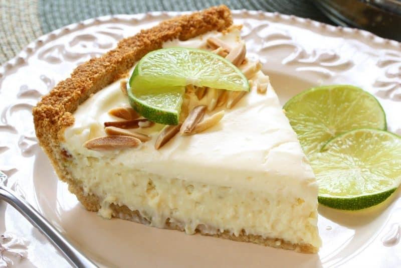 Key Lime Pie with Almonds
