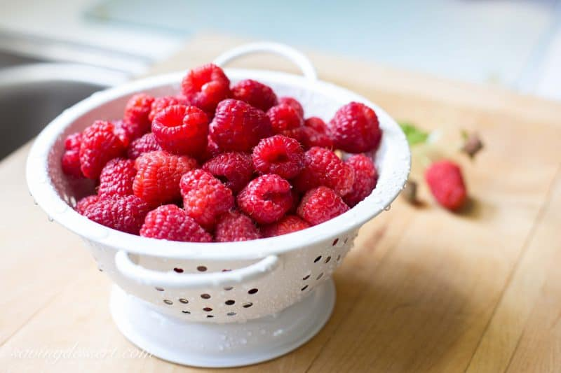 Raspberry Peach Clafoutis-2