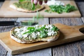 Pesto Grilled Pizza-4