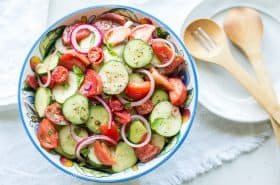 Cucumber Tomato Onion Salad-2