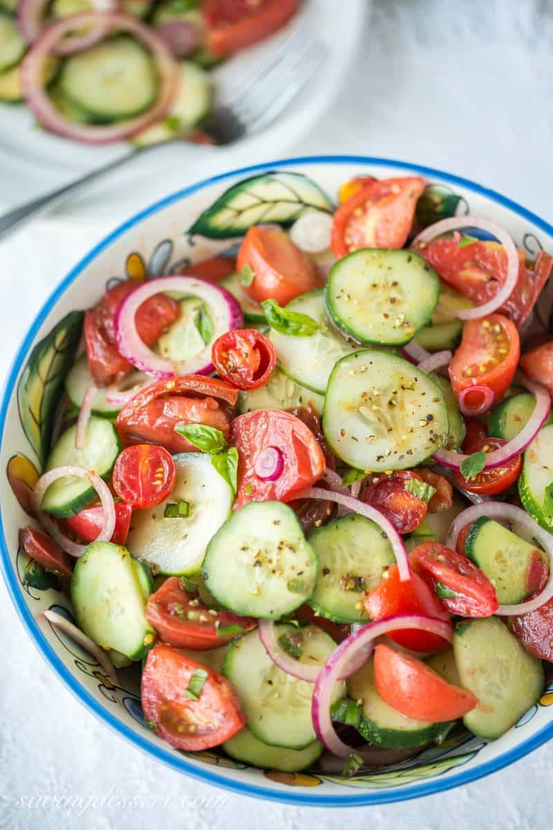 25 Best Cucumber Recipes ~ from salads and soups, to sandwiches and popsicles, these gorgeous recipes will inspire and delight and help you use up all those fresh garden cucumbers! www.savingdessert.com