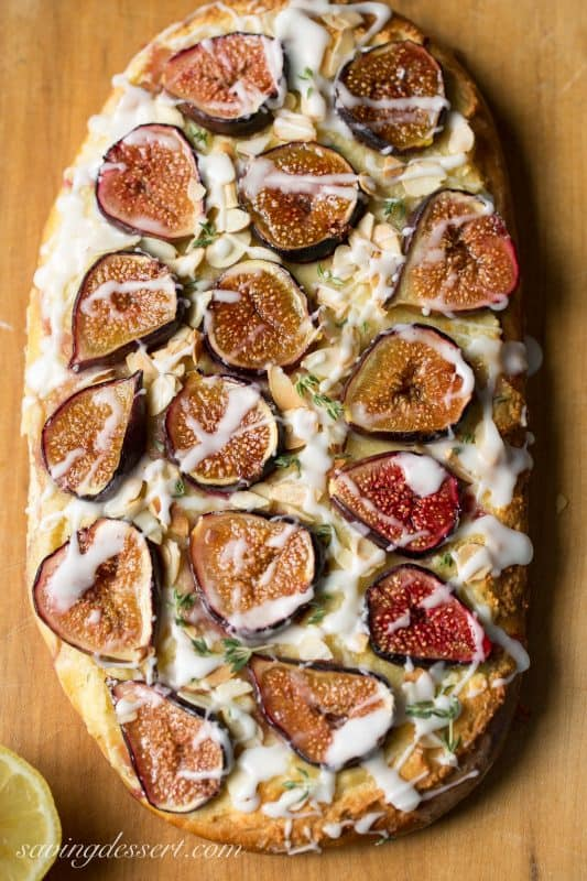The figs caramelize in the oven and remain juicy, with an incredible ...