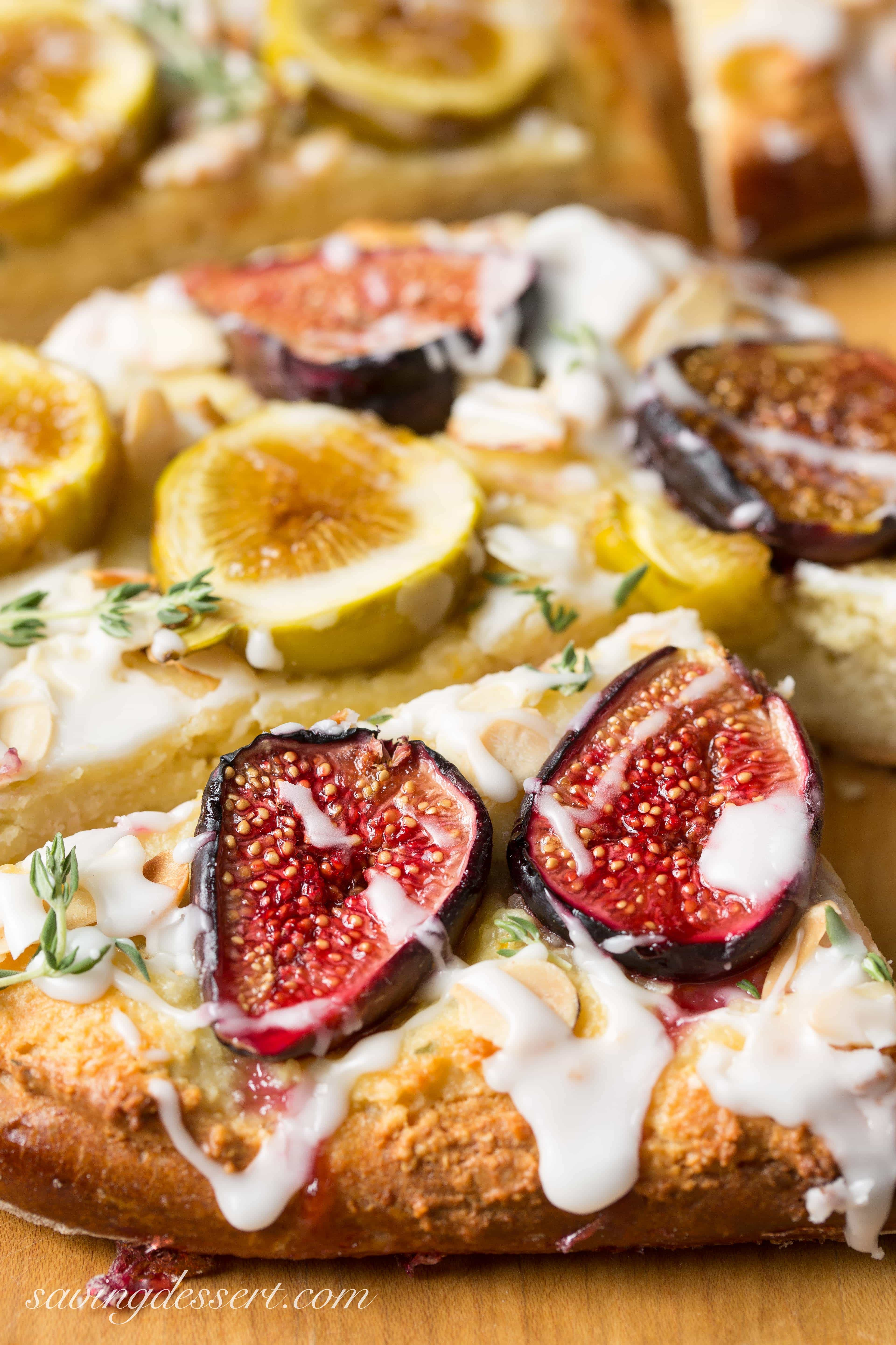 Fig And Goat Cheese Tarts Recipe — Dishmaps
