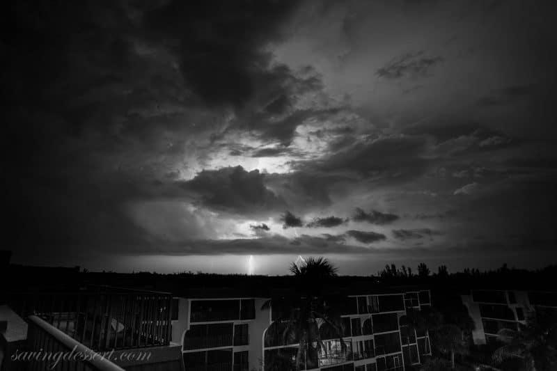 Sanibel Island Lightning August 2015