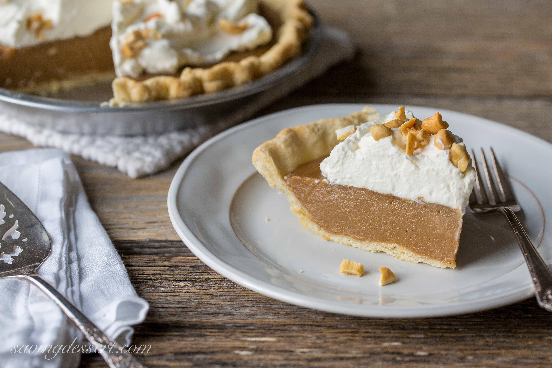 Butterscotch Pie - Saving Room for Dessert