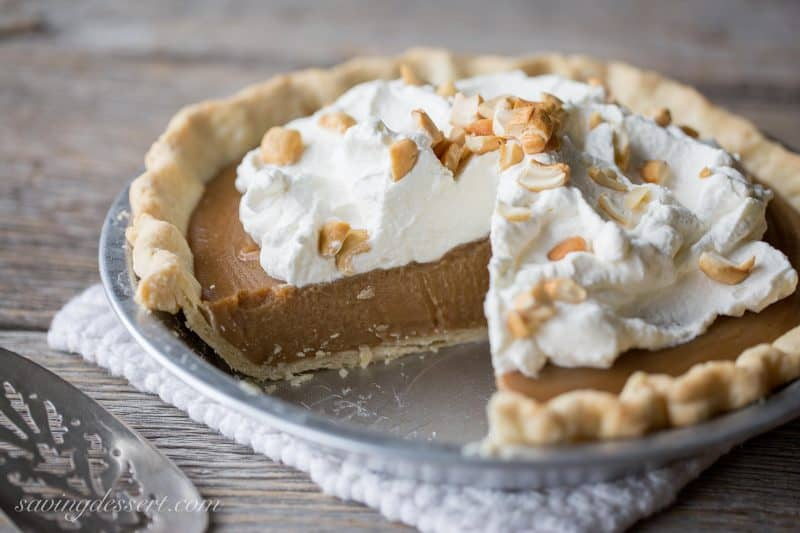 Butterscotch Pie - Saving Room for Dessert