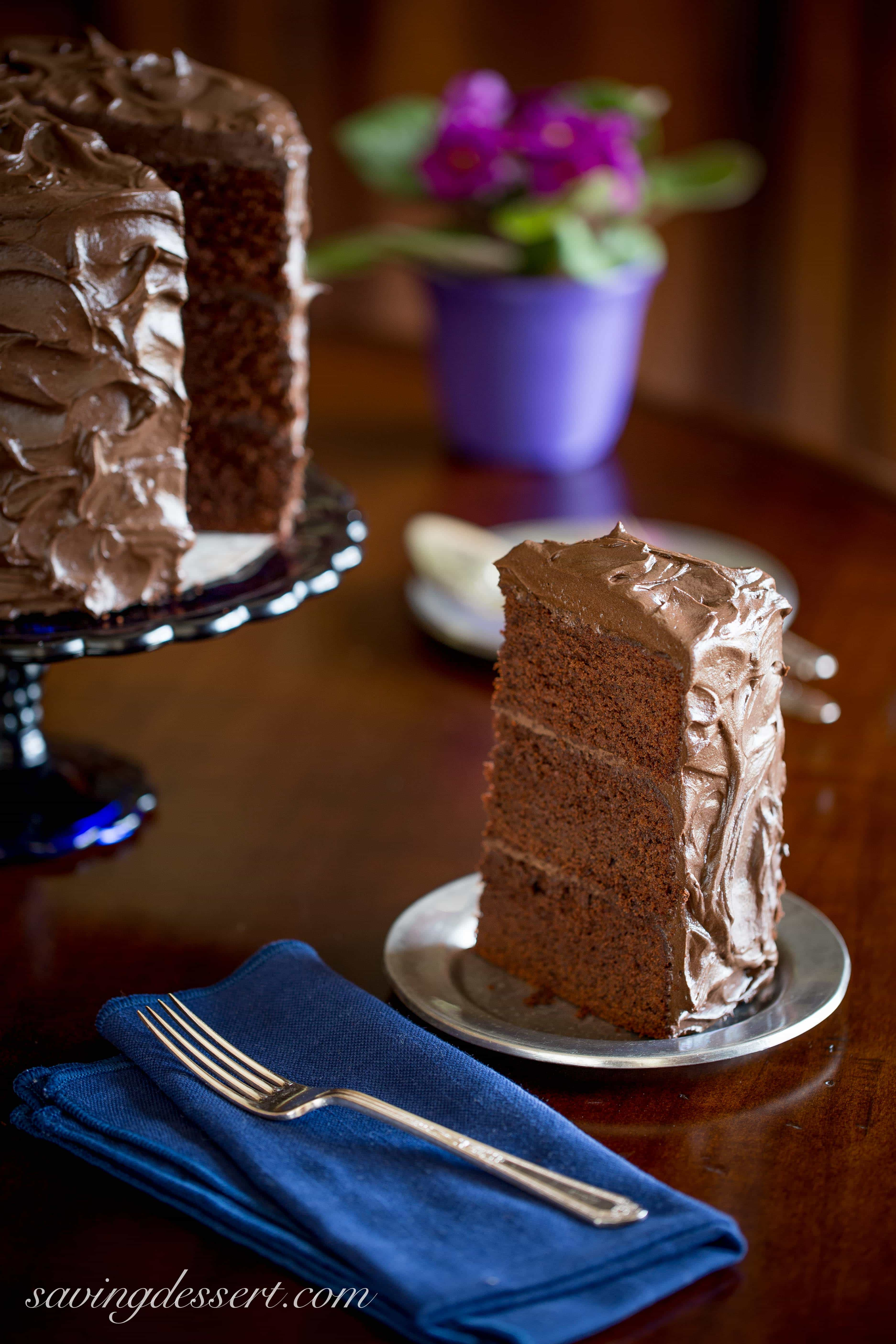 Chocolate Stout Cake - Saving Room for Dessert