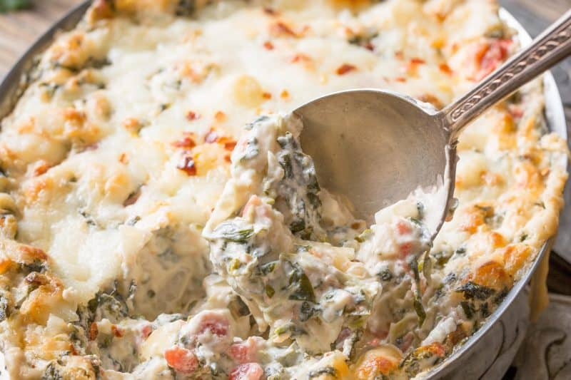 a spicy warm spinach dip packed alongside flavor Spicy Southwestern Spinach Dip