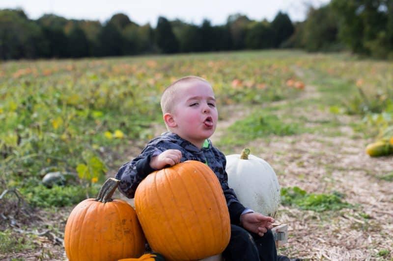 Isaac Pumpkin Hunting Oct 2015