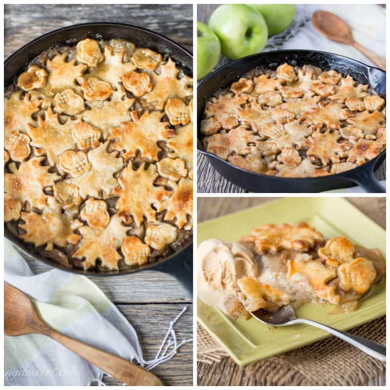 Apple Pandowdy (or Apple Pan Dowdy) - an old-fashioned skillet apple ...