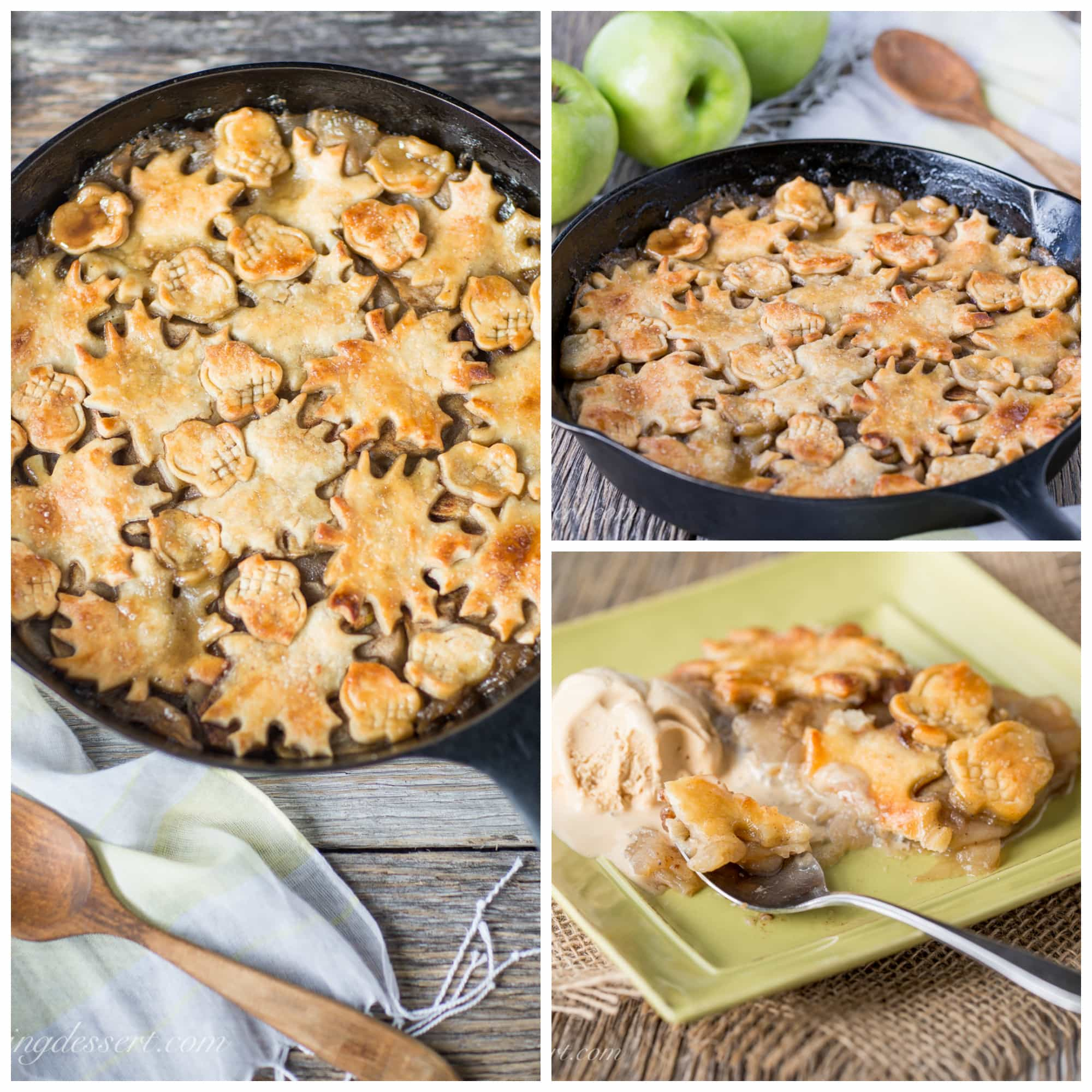 Apple Pandowdy (or Apple Pan Dowdy) is an old-fashioned skillet apple ...