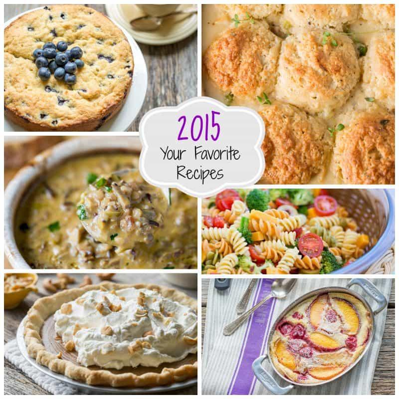 Top 10 of 2015 - reader favorites from www.savingdessert.com