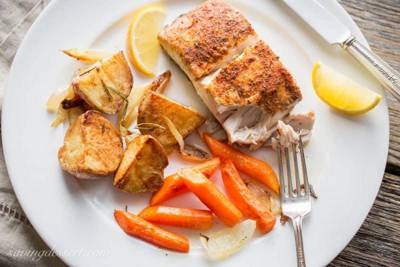 Baked Fish & Vegetables