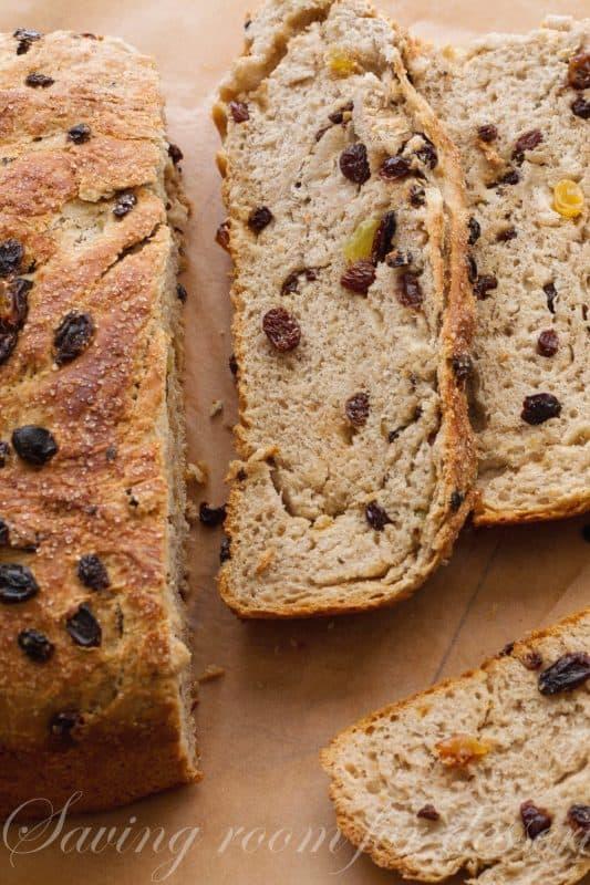 Barm Brack Traditional Irish Halloween Bread