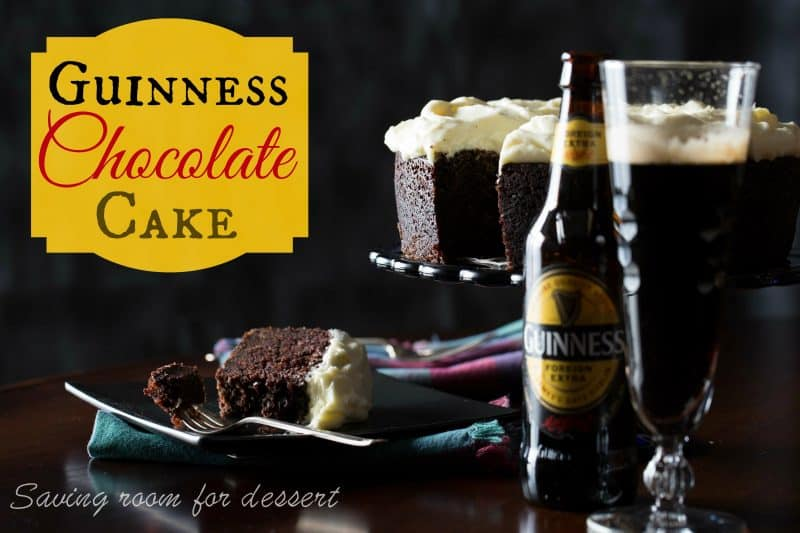 Guinness Chocolate Cake from www.savingdessert.com