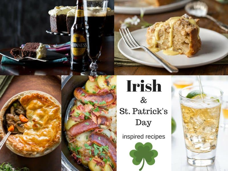 Irish Recipes & Travel Posts ~ A wonderful roundup of Irish recipes and Travel Posts and St. Patrick's Day inspired fun! from www.savingdessert.com