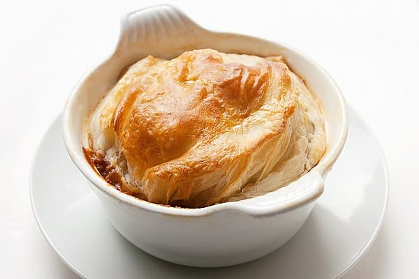 Beef & Guinness Pie